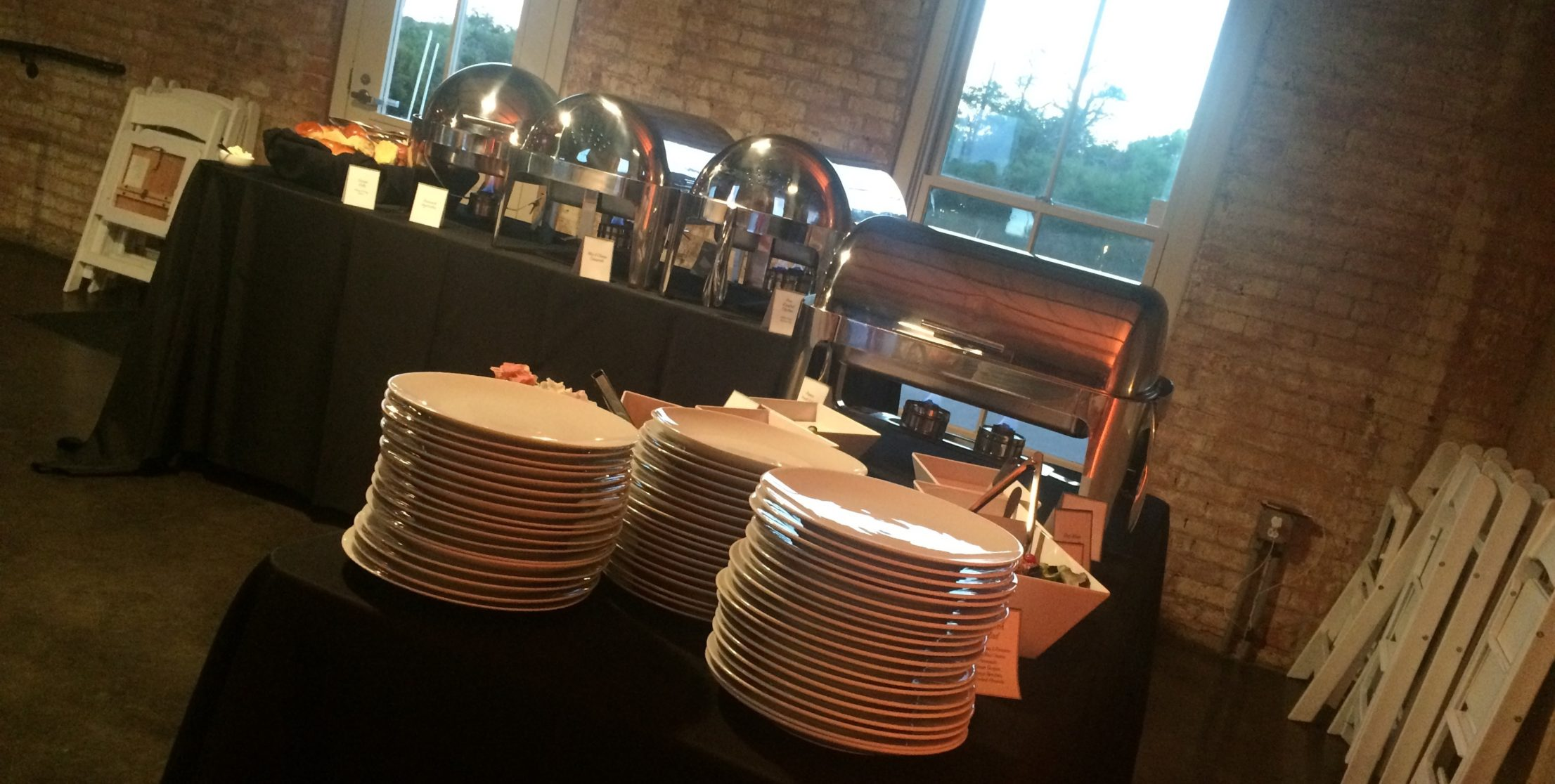 Img Wedding Reception Buffet from Vickery Park at The Filter Building