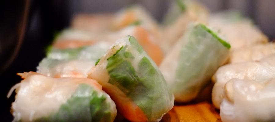 Spring Rolls From Green Papaya