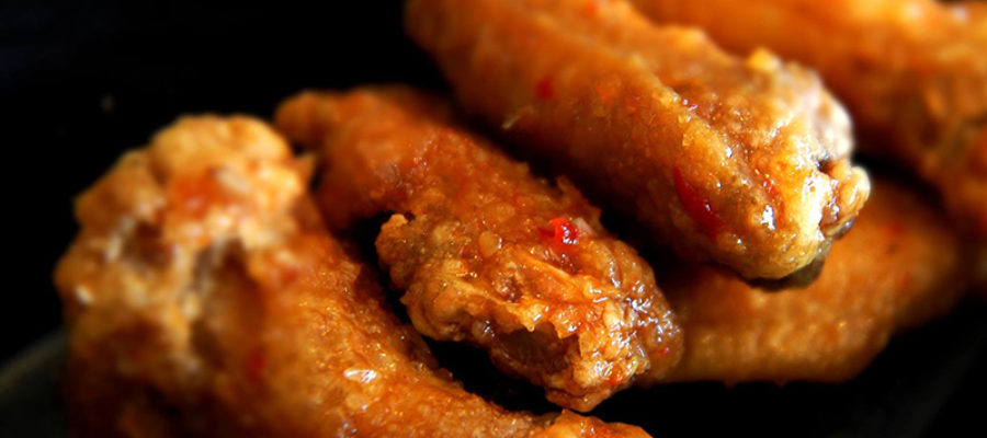 Asian Hot Wings From Bbbop