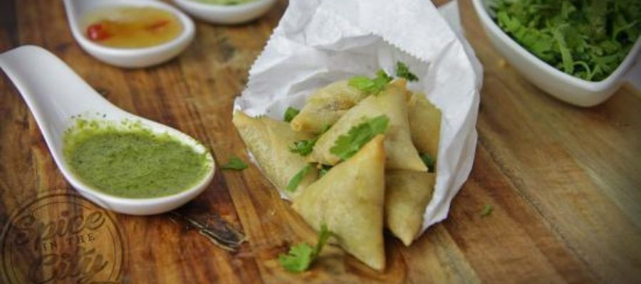 Mini Potato Samosas
