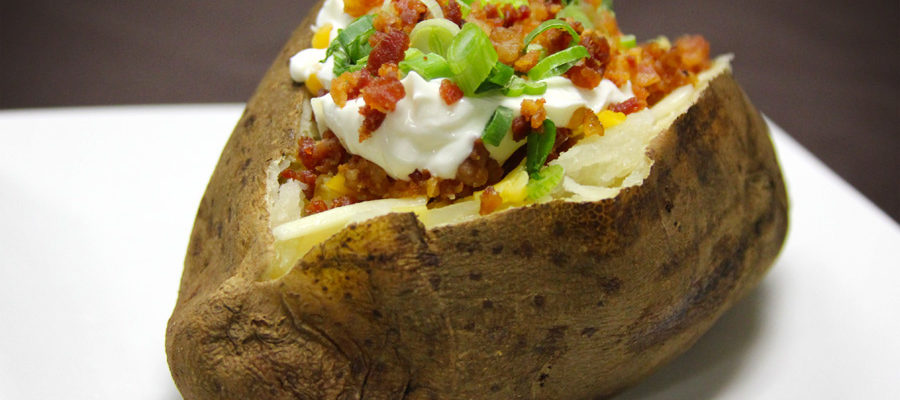 Yo Smoked Baked Potato