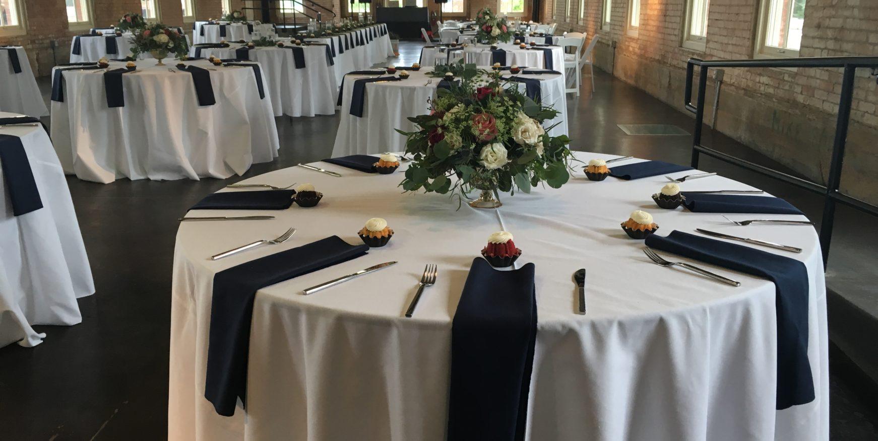 Dana & Nathan Wedding Tables