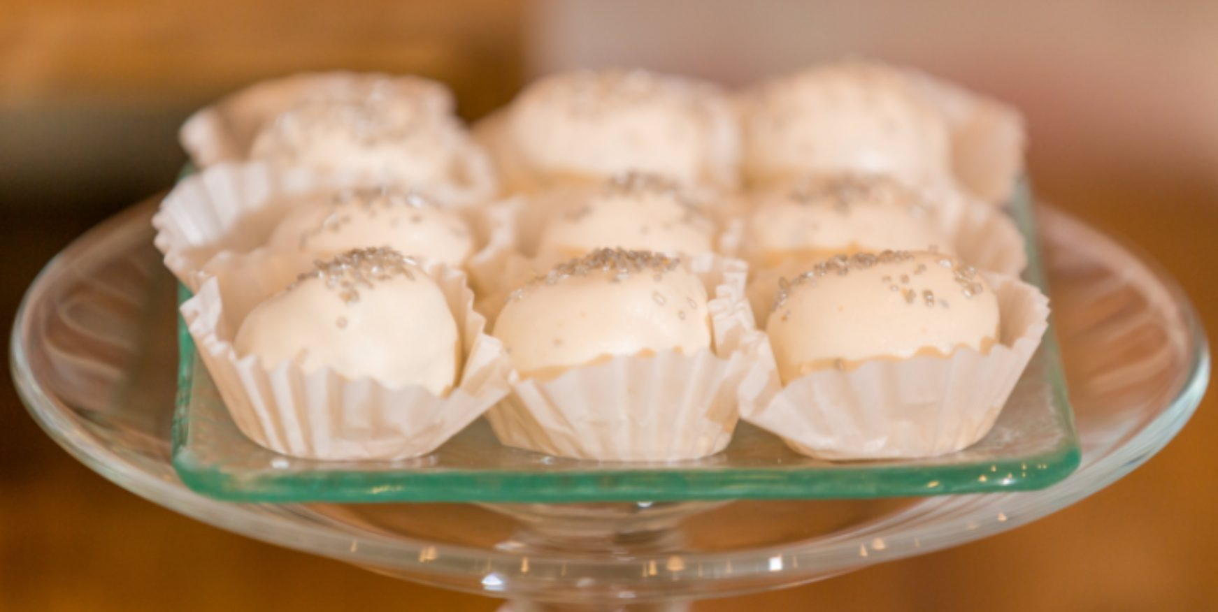 cakeballs from corporate catering partner crickles & co