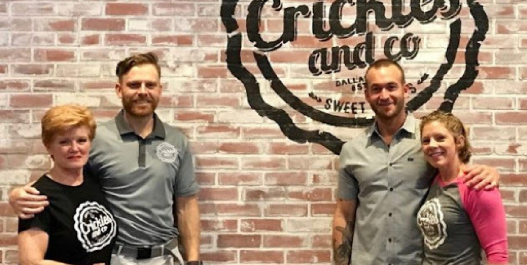 cohost catering partners Crickles & Co owners