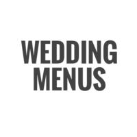 Wedding Menus Fotor